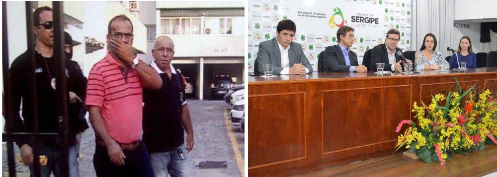 O ex-deputado estadual Raimundo Vieira, mais conhecido como Mundinho da Comase (PSL), preso na manhã desta quarta (29) por envolvimento no desvio das verbas de subvenção da Assembleia Legislativa, já denunciou, em condição de delação premiada, seis deputados estaduais e dois ex-parlamentares, que também teriam participado do esquema de lavagem de dinheiro; de acordo com a polícia e com o MP, o esquema, que envolveu a entidade Ala Jovem, de Lagarto, teria desviado mais de R$ 3,3 milhões; além de Mundinho, os outros dois presos na operação de hoje – Augifranco Vasconcelos (presidente da associação) e Ygor Henrique Vasconcelos (responsável pela empresa MP10, onde notas frias eram emitidas) – também aceitaram fazer delações; os nomes dos políticos citados não foram revelados