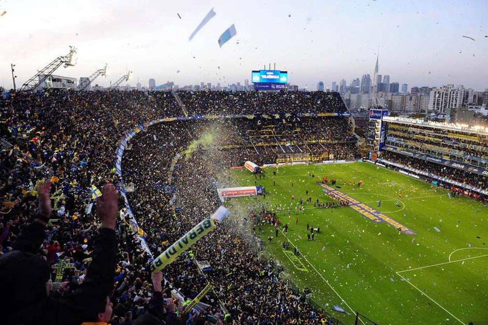 O Estádio do Club Atlético Boca Juniors, conhecido como La Bombonera, foi interditado após os episódios de violência registrados na noite de ontem (14) durante as oitavas de final da Copa Libertadores da América; informação foi confirmada pelo procurador-geral da cidade de Buenos Aires, Martín Ocampo