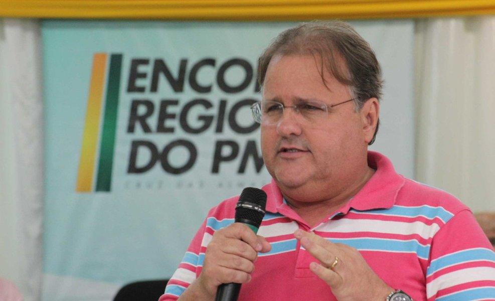 """Integrante da ala rebelde do PMDB, o ex-ministro e secretário nacional do partido, Geddel Vieira Lima, convocou """"todos os peemedebistas da Bahia"""" a participar das manifestações marcadas para domingo contra o governo federal; """"É hora da cidadania ser exercida na defesa de mudanças no Brasil""""; apesar de confirmar sua participação no ato em Salvador, ele afirma que, """"por ora"""", não está defendendo """"a bandeira do impeachment"""""""