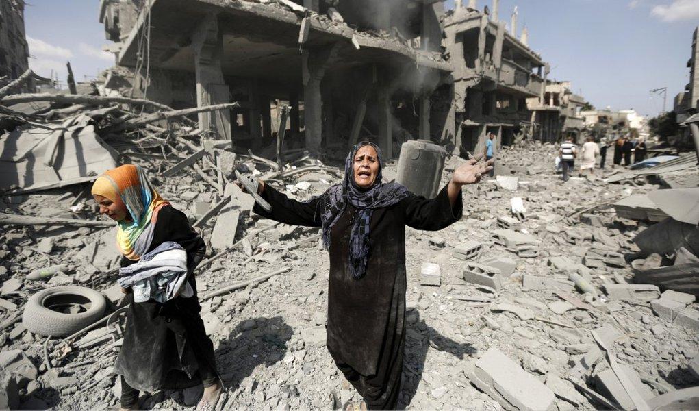 Israel matou mais civis palestinos em 2014 do que em qualquer outro ano desde que a ocupação da Cisjordânia e da Faixa de Gaza começou em 1967, revelou um relatório da ONU nesta sexta (27); o documento atesta que a atuação israelense na Faixa de Gaza, Cisjordânia e Jerusalém Oriental resultou na morte de 2.314 palestinos e 17.125 feridos no ano passado; dados contrastam com as 39 mortes e 3.964 feridos palestinos que a agência contabilizou em 2013