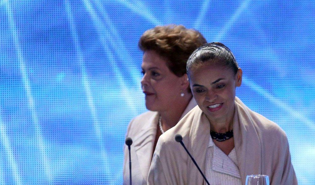 Marina critica quem culpa Dilma pela corrupção