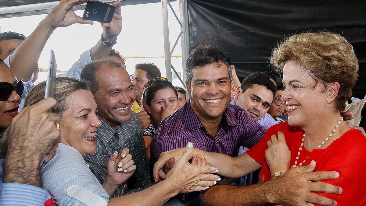 Boa Vista - RR, 07/08/2015. Presidenta Dilma Rousseff durante cerimônia de entrega de 747 unidades habitacionais dos Residenciais Pérola VI e VII e Ajuricaba, do Programa Minha Casa Minha Vida. Foto: Roberto Stuckert Filho/PR