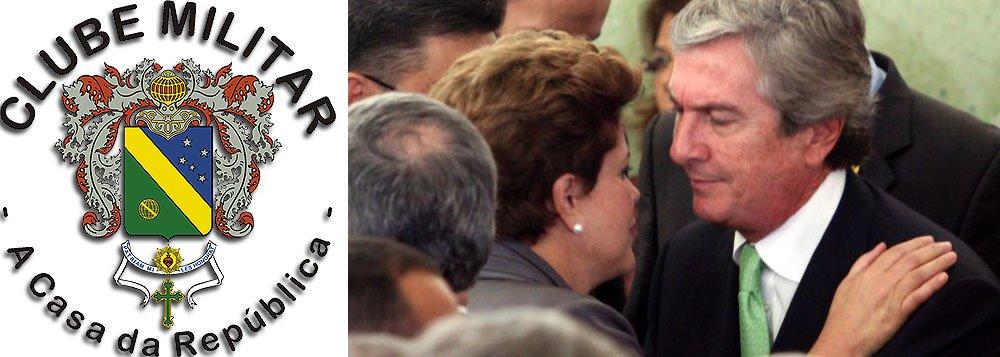 """""""Estamos acompanhando com preocupação esse desgaste grande não só do Executivo, mas também do Legislativo. Vemos com apreensão como tudo isso vai acabar"""", disse o representante da entidade, general Sérgio Costa de Castro; segundo ele, os protestos populares contra a presidente Dilma Rousseff se assemelham ao momento anterior ao golpe de 64; ele cita o caso de corrupção na Petrobras e afirma que o ex-presidente Fernando Collor de Mello foi afastado do cargo """"por muito menos"""""""