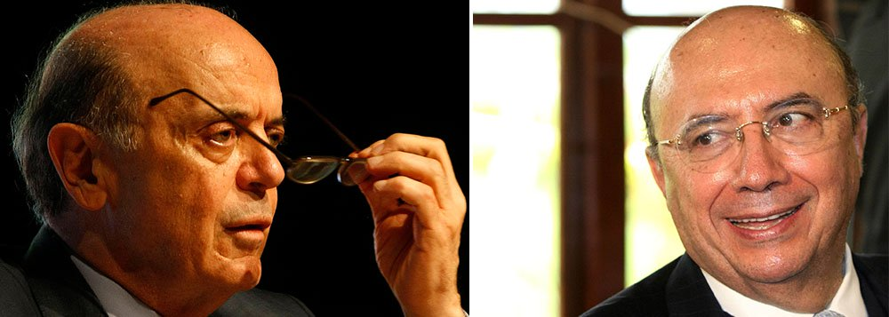 """Senador eleito por São Paulo, José Serra definiu como """"um dos maiores erros da política econômica"""" do País o uso dessa mesma estratégia no passado, ou seja, a nomeação do ex-presidente do Banco Central Henrique Meirelles no governo; tucano criticou o fato de Meirelles, a partir da crise de 2008, ter demorado para mexer nos juros; """"Essa estratégia agora não funciona, não tem fôlego"""", afirmou"""