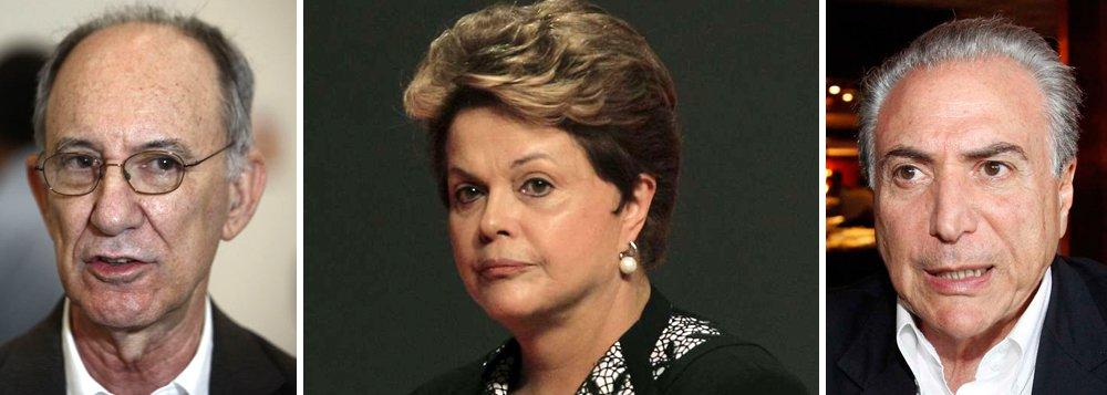"""Presidente Dilma avisou, através do presidente Rui Falcão, que não ouviria o partido para decidir sua equipe econômica, mas que chamaria os petistas em seguida para tratar das outras pastas; """"Mas Dilma maltrata o partido também ao ignorá-lo, até agora, na segunda etapa de montagem do ministério. A mágoa é grande"""", comenta a colunista do 247 Tereza Cruvinel; enquanto isso, presidente ampliou de 5 para 6 pastas a cota do PMDB de Michel Temer, irritado com a escolha de Kátia Abreu para a Agricultura; ainda há PROS, PP e PSD a atender; resultado, diz a jornalista: """"o PT faz as contas e acha que perderá espaço mesmo"""""""