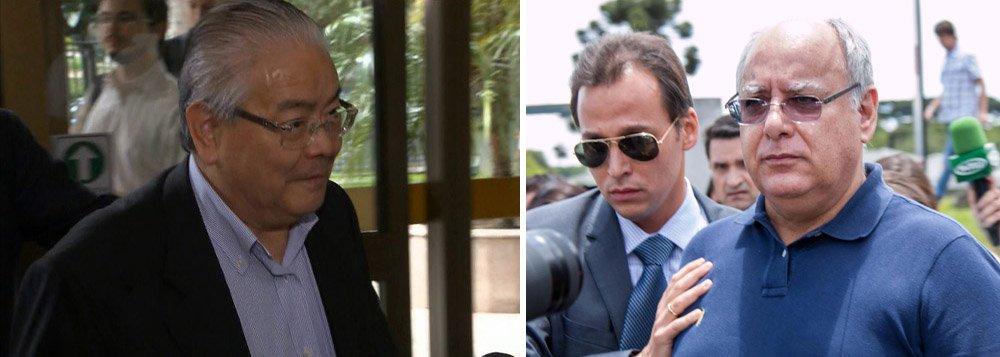 """O engenheiro Shinko Nakandakari, apontado como um dos 11 operadores do esquema de corrupção na Diretoria de Serviços da Petrobras, disse ter se encontrado com o ex-diretor da estatal Renato Duque """"umas 10 vezes'"""" para entregar cerca de R$ 1 milhão em espécie;""""Acho que umas 10 vezes, viu, doutor"""", disse Nakandakari ao juiz federal Sérgio Moro, responsável pelas ações da Operação Lava Jato; o dinheiro teria sido entregue entre julho de 2011 e março de 2012, sedo que antes deste período, os valores eram entregues ao ex-gerente Pedro Barusco"""