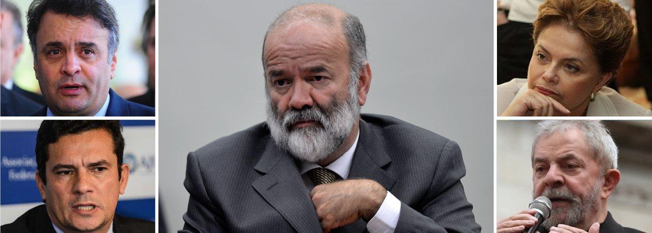 Em tabela com Moro, PSDB pede prisão de Lula e Dilma
