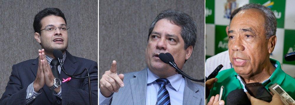 """Vereadores Anderson de Tuca (PRTB), atual vice-líder da bancada governista, e Renilson Félix (DEM), que já exerceu a mesma função, cobraram da administração municipal a revisão do Plano Diretor de Aracaju; Anderson afirmou que é necessário que o Executivo Municipal envie o Plano para que a cidade não continue sofrendo com o crescimento imobiliário desordenado; já o demista frisou que o projeto é o """"mais importante dessa legislatura""""; ele cobrou uma posição do presidente da Câmara, vereador Vinicius Porto, também do DEM"""