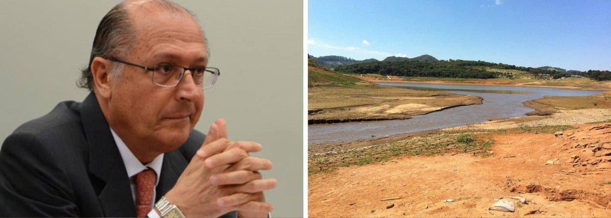 """""""Nós não podemos perder o apoio de ninguém. Todo mundo tem que ajudar. Se todos ajudarem, nós vamos superar a crise hídrica. Então, queremos que todos participem com campanha, bônus, estímulo. O ônus é uma hipótese"""", afirmou o governador Geraldo Alckmin; possibilidade de multa para quem consumir em excesso ainda está em discussão"""