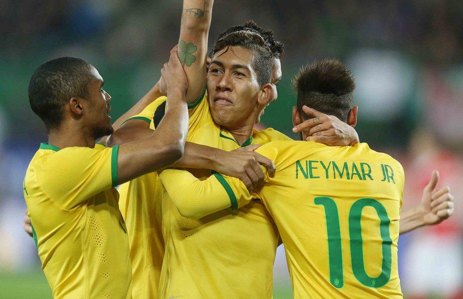Diferentemente do jogo contra a Turquia, que a Seleção venceu por 4 a 0 sem grandes dificuldades, o jogo contra a Áustria foi muito duro, e o Brasil venceu apertado pelo placar de 2 a 1