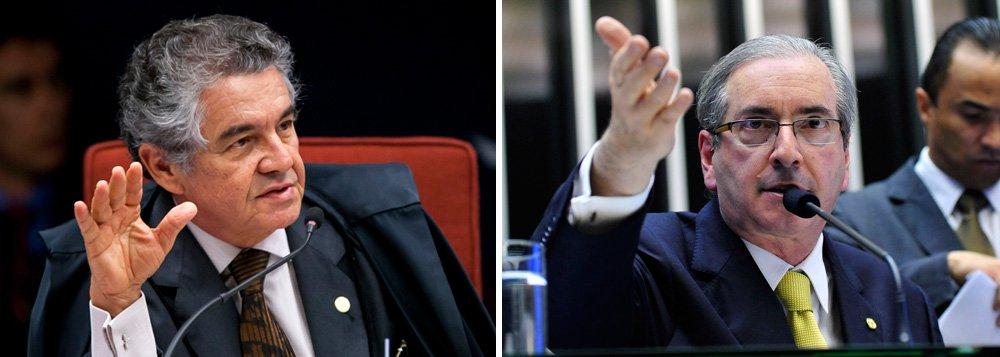 """Sem citar o presidente da Câmara, o ministro do STF se referiu à manobra de Eduardo Cunha (PMDB-RJ) para aprovar a redução da maioridade penal para crimes hediondos como """"retrocesso""""; """"Vivenciamento tempos muito estranhos. Com perda de parâmetros, abandonos de princípios. Não se avança culturalmente assim. Abandonando a Constituição Federal, isso é um retrocesso"""", criticou"""