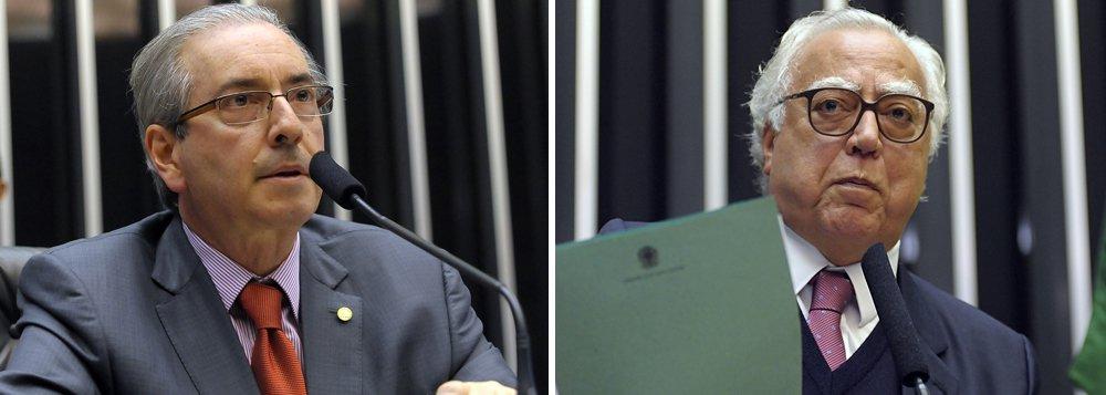 PMDB e governo já discutem substituto de Cunha. Miro Teixeira é opção