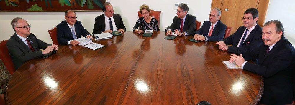 Alckmin: impeachment não está em discussão
