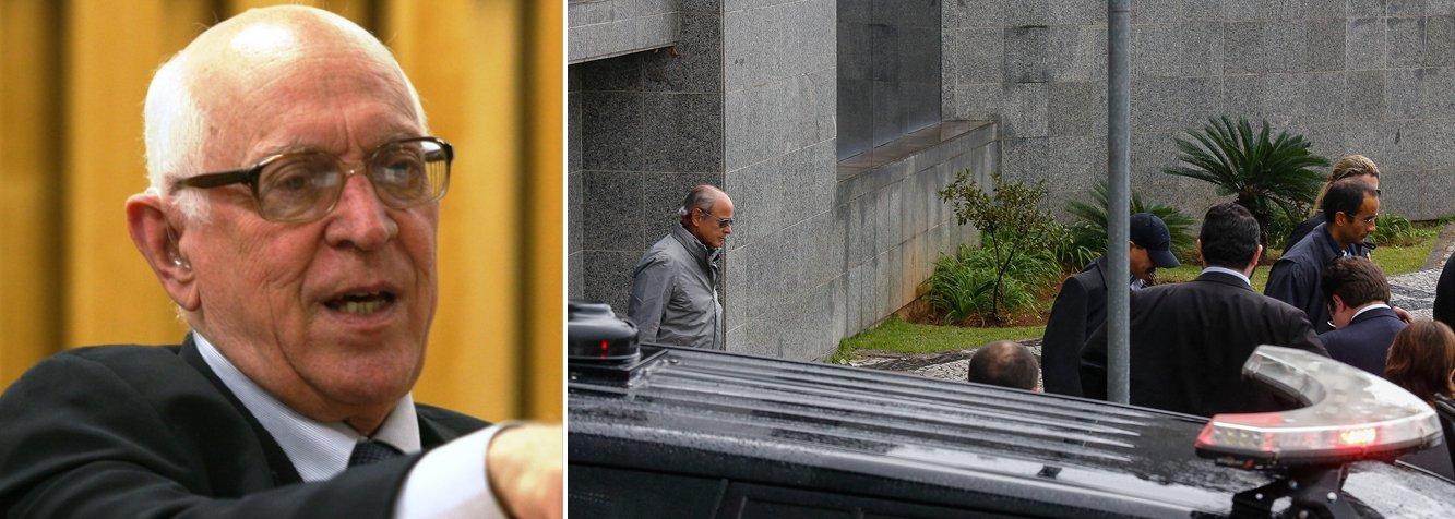 """Para o jurista Dalmo Dallari, especializado em Direito Constitucional, a intenção da operação Lava Jato é atingir o ex-presidente Lula; """"Esta direita intolerante, vingativa, feroz, deve estar sofrendo muito. Até agora não conseguiram chegar no ex-presidente Lula. Eles têm essa intenção, mas não estão conseguindo e, pelo que foi revelado, não irão conseguir também. Não há elementos para isso"""", afirmou; do ponto de vista jurídico, Dallari entende que há exagero nas decretações de prisões preventivas decretadas pelo juiz Sérgio Moro"""