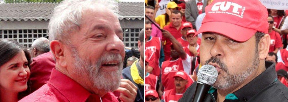 """Ex-presidente Lula voltou atrás para não vincular sua imagem a atos contra as medidas do governo; recentemente, o presidente da CUT, Vagner Freitas disse que as manifestações marcadas para o dia 13 de março não serão ato pró-Dilma: """"Estamos preocupados com as medidas econômicas do governo. Somos contra as medidas de ajuste fiscal, mas não engrossamos nenhum tipo de golpismo"""""""