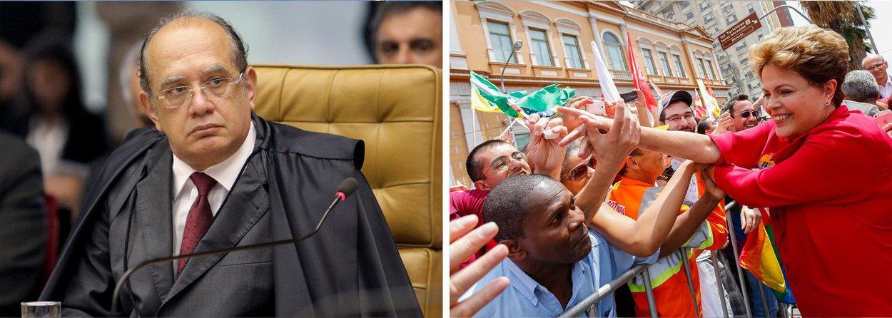 """Ministério Público Eleitoral alega ao TSE que a relatoria da prestação de contas da campanha da presidente Dilma Rousseff só deveria ser redistribuída para ministros da mesma """"classe"""" que Henrique Neves, primeiro relator e cujo mandato expirou na semana passada; caso, porém, caiu com Gilmar Mendes, que ocupa uma cadeira no Tribunal Superior Eleitoral como oriundo do STF; """"O Ministério Público Eleitoral requer que seja reconsiderada a decisão impugnada, a fim de que se proceda à redistribuição do processo"""", pede o recurso"""