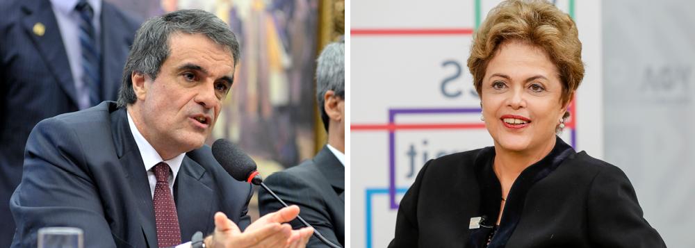 """O ministro da Justiça, José Eduardo Cardozo, disse nesta quarta (15) que a Operação Lava Jato não chegará à presidente Dilma Rousseff; """"Conheço a presidente há muitos anos. Tenho orgulho de conhecê-la. É uma pessoa de honestidade inatacável. Todas as pessoas têm defeitos, virtudes. Não está entre os defeitos da presidente Dilma Rousseff a desonestidade"""", disse; """"Eu tenho absoluta certeza de que nenhum fato relacionado a desvio de dinheiro público, corrupção e improbidade chegará próximo da presidente Dilma Rousseff,"""" completou"""