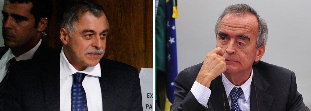 Os dois ex-diretores da Petrobras, que têm versões diferentes sobre o esquema de propina na estatal, ficarão frente a frente no Congresso; CPMI também aprovou nesta tarde as convocações do ex-diretor Renato Duque, preso na sexta-feira no âmbito da Operação Lava Jato, e Sérgio Machado, presidente da Transpetro