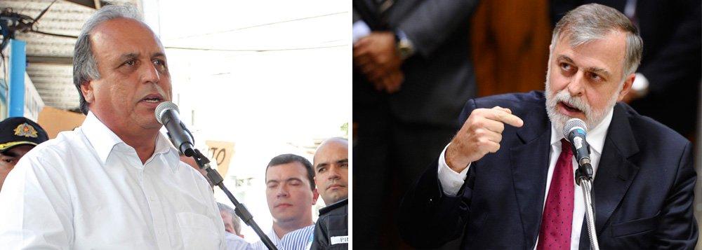 """Governado do Rio, Luiz Fernando Pezão voltou a negar o recebimento de recursos para campanha do ex-diretor da Petrobras Paulo Roberto Costa, um dos delatores do esquema de corrupção na estatal, investigado na Operação Lava Jato; o procurador-geral da República, Rodrigo Janot, pode entregar ao STJ pedidos para investigar governadores citados durante a operação; """"Respeito muito a Justiça, só que tenho tranquilidade que não recebi nenhum recurso, não tive nenhuma ajuda de campanha, não pedi e não tive conversa com Paulo Roberto [Costa] e com ninguém da Petrobras para pedir ajuda de campanha"""""""