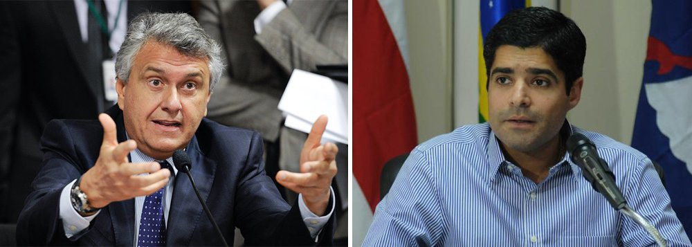 """Senador Ronaldo Caiado está se sentindo 'traído' pelo prefeito de Salvador, ACM Neto, que articulou para que oito deputados federais do DEM votassem a favor do projeto de ajuste fiscal do governo; Caiado afirmou que ACM agiu como """"ministro"""" da presidente Dilma Rousseff;""""Foi uma surpresa negativa. Preciso reconhecer que, ultimamente, tenho errado muito"""", afirmou o senador, que chegou a pedir desculpas pelo que considerou uma """"traição"""" de deputados do partido; na quarta-feira (6), quando esteve em Brasília, ACM Neto conversou com deputados do DEM e com o vice-presidente Michel Temer"""