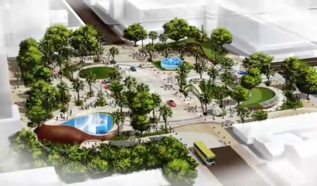 As obras de construção da nova Praça Portugal estão em fase final de financiamento junto ao Ministério da Fazenda, de acordo com o prefeito de Fortaleza, Roberto Claudio (Pros). Os recursos serão provenientes, em sua totalidade, do Banco Latino-Americano de Desenvolvimento
