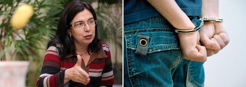 """Estudiosa do tema da criança e do adolescente desde 1992, a professora do Departamento de Ciências Criminais da UFRGS Ana Paula Motta Costa critica a PEC de Redução da Maioridade Penal que tramita da Câmara dos Deputados; segundo ela, a medida é debatida com um """"discurso de redução da violência ou de redução da impunidade e com isso, ela acaba gerando mais violência""""; """"As consequências disso para o Brasil são muito sérias""""; Ana Paula classifica como uma """"hipocrisia generalizada"""" falar em impunidade dos jovens no Brasil, uma vez que 60% dos deputados que votaram a favor da PEC na CCJ da Câmara respondem a processos judiciais e estão soltos"""