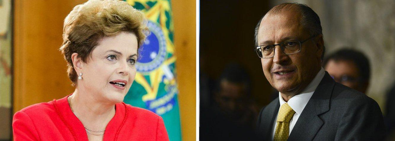 A presidente Dilma Rousseff e o governador de São Paulo, Geraldo Alckmin (PSDB), assinam nesta quinta (25) o contrato de financiamento de R$ 830 milhões para interligar as bacias hidrográficas Jaguari-Atibainha; a obra, que integra o Programa de Aceleração do Crescimento, estava prevista desde o início do ano, mas os recursos só serão liberados agora