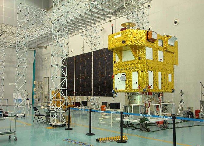 Mais novo satélite de uma parceria entre o Brasil e a China que começou no final da década de 1980, o CBERS-4 teve 50% de seus componentes fabricados no Brasil
