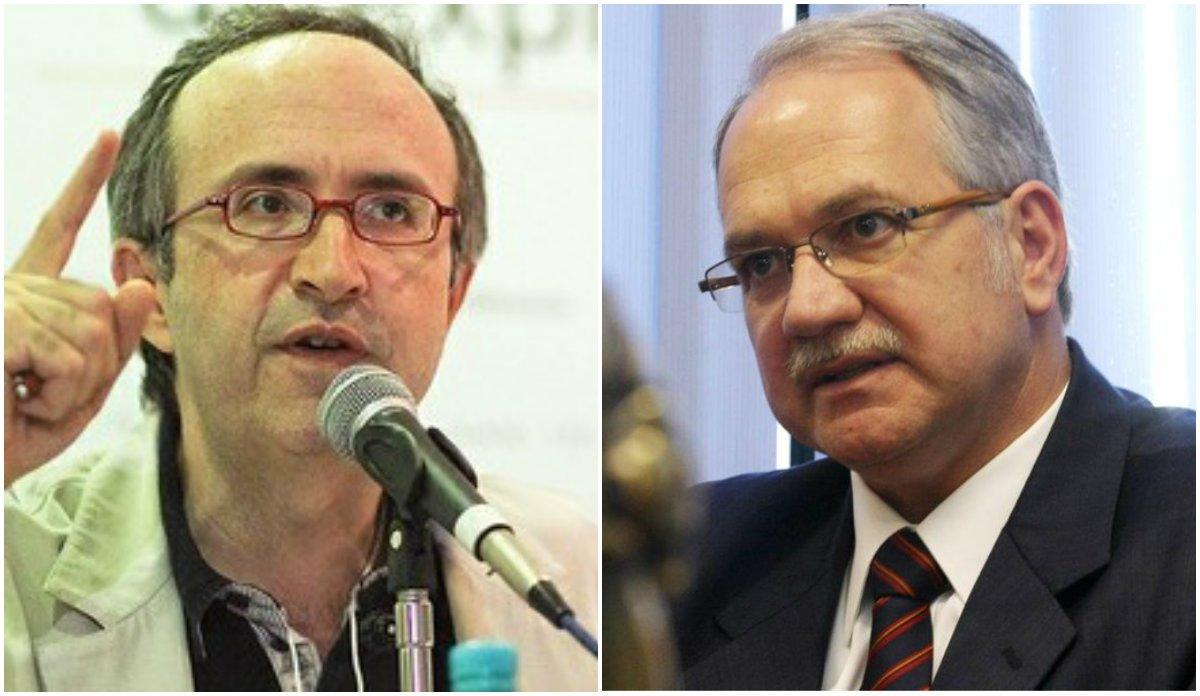 """Blogueiro neocon de Veja vem desferindo críticas ao indicado por Dilma ao STF e afirma que o PMDB """"está sendo assediado"""" para aprová-lo no Senado; para Reinaldo Azevedo, o jurista """"decidiu investir no fim da família"""" ao, segundo ele, defender a poligamia; autor do livro de onde foi retirado o mencionado artigo de Fachin, o advogado Marcos Alves Silva rebateu as declarações e chamou Reinaldo de """"tolo"""" e, seu texto, de """"repugnante"""""""