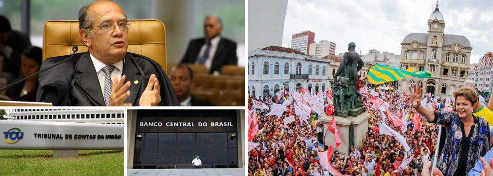 """Em entrevista ao 247, o ministro do Supremo Tribunal Federal, Gilmar Mendes, afirmou que o PT não deve se preocupar com a sua relatoria sobre as contas de campanha da presidente Dilma Rousseff, caso tudo tenha sido feito dentro da lei; """"Se tudo tiver sido feito dentro da normalidade, nenhum problema. Agora, se tiver problema, tem problema""""; ele defendeu ainda a convocação de técnicos do Banco Central, da Receita Federal e do Tribunal de Contas da União para avaliar a questão; """"será uma análise rigorosa como deve ser""""; o ministro questionou ainda a crítica sobre seu voto que isentou a Petrobras de seguir a Lei 8.666; """"o regime especial da Petrobras não foi feito para permitir a ladroagem ou para que ali se instalasse uma cleptocracia"""", disse ele"""