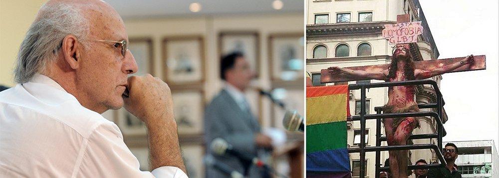 Padre Julio Lancellotti defende ato LGBT