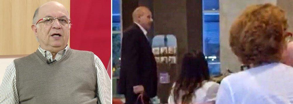 """O analista político Paulo Vannuchi criticou a cobertura da mídia ao novo caso de agressão ao ex-ministro Guido Mantega, promovido por fascistas em um restaurante em São Paulo; """"É mais um episódio de intolerância e ódio, e a imprensa, que poderia não deixar esse episódio seguir adiante, aplaude"""", afirmou; """"É o preconceito que vai se disseminando e consolidando, com um clima golpista, porque ele também é um conjunto de ações que ataca a convivência democrática"""""""