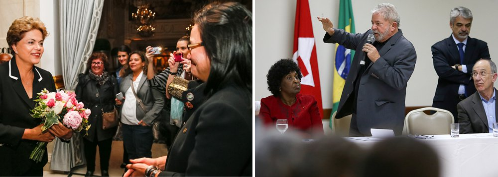 """Ao retornar dos Estados Unidos, onde foi prestigiada por Barack Obama, restaurou os laços bilaterais abalados há dois anos e teve contatos importantes com investidores, a presidente """"encontrará a crise política em outro patamar e terá de estar preparada para o avanço da ofensiva adversária, que só pode ser detido por uma reação muito vigorosa. É disso que se ocupa Lula neste momento"""", afirma Tereza Cruvinel, colunista 247; para a jornalista, que cita a falta de unidade da oposição, """"o desfecho da crise política não é iminente, mas os próximos três meses serão cruciais""""; """"Ou seja, a divisão de interesses entre os que querem remover Dilma do governo garante a ela um tempo para reagir e evitar o pior"""", avalia; leia a íntegra"""