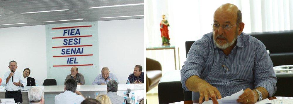 """O presidente da Federação das Indústrias do Estado de Alagoas, José Carlos Lyra, retornou ao estado, após reunião em São Paulo na Confederação Nacional da Indústria (CNI), pronto para desempenhar o papel combinado pelo setor produtivo, que é o de defender um pacto pela governança; objetivo é que todos fiquem comprometidos com a construção de uma agenda comum, voltada ao fortalecimento da economia e modernização política e institucional do país; """"Enfrentamos um momento grave, onde a confiança das empresas e dos cidadãos está abalada. O resultado é um quadro de recessão e de estagnação da economia. Precisamos agir para retomar o caminho do desenvolvimento"""", defendeuJosé Carlos Lyra"""