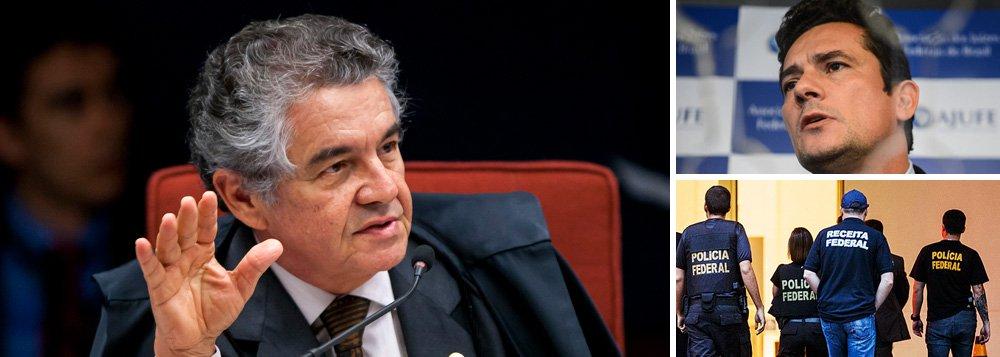 """Ministro Mauro Aurélio Mello, do STF, faz críticas ao uso da prisão preventiva na Lava Jato; """"Ela deve existir como exceção, não como regra"""", diz; ele também defende que as delações premiadas devam ser """"um ato espontâneo"""" e que o número de delatores nesse caso (cerca de 15), """"já revela algo estranho""""; o magistrado critica ainda o que, para ele, seria """"um afã muito grande"""" em se chegar a um bom resultado; """"Não posso simplesmente potencializar o que eu quero alcançar e atropelar normas existentes. Falo de normas que implicam para todos nós, cidadãos, segurança jurídica. Esta deve prevalecer, não pode ser atropelada"""""""
