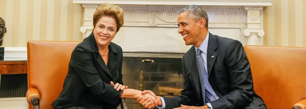 Washington - EUA, 30/06/2015. Presidenta Dilma Rousseff durante reunião de trabalho com o presidente dos Estados Unidos da América, Barack Obama. Foto: Roberto Stuckert Filho/PR