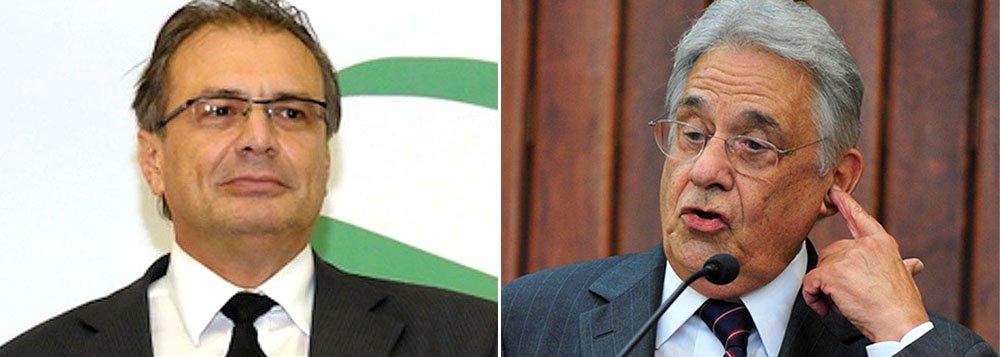 """Em sua delação premiada, o ex-gerente Pedro Barusco, que irá devolver R$ 252 milhões às autoridades, disse que começou a receber propinas em 1996, segundo ano do governo FHC, que se disse """"envergonhado pelo que fizeram na Petrobras""""; Barusco negou que recebesse propinas partidárias; """"essa era a parte da casa"""", disse; confissão enfraquece estratégia tucana de associar escândalo ao PT; ele também disse que contratava sem licitação, o que foi permitido por uma lei do ex-presidente tucano; recentemente,tentou favorecer a Odebrecht"""