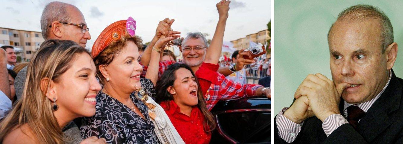 """Presidente Dilma Rousseff (PT) sinalizou nesta quinta (4) a saída do ministro Guido Mantega (Fazenda) em caso de reeleição; em entrevista em Fortaleza, ela foi questionada especificamente sobre o futuro do titular da Fazenda caso vença as eleições; """"Eleição nova, governo novo, equipe nova"""", disse; """"Quero dizer o seguinte. Só faço uma coisa. Não nomeio ministro em segundo mandato. Eu não fui eleita. Como é que eu saio por aí nomeando ministro?"""", afirmou"""