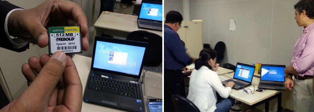 Técnicos de informática do Tribunal Regional Eleitoral de Alagoas (TER-AL) já iniciaram o processo de preparação das urnas para as eleições; além dos dispositivos com os dados dos candidatos, eles também preparam pendrives de grande porte que vão armazenar os votos computados pelas urnas eletrônicas