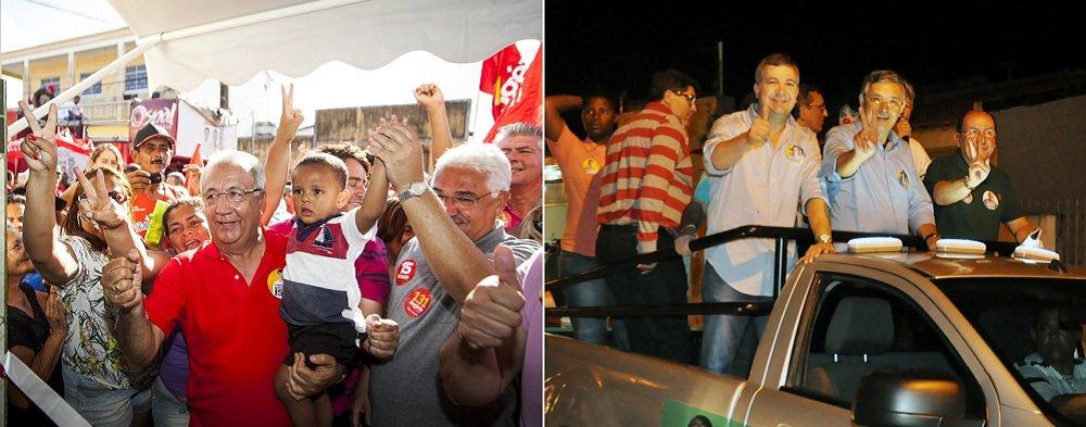 Pesquisa Ibope, divulgada pela TV Sergipe, nesta quarta (3), mostrou crescimento de oito pontos do governador Jackson Barreto (PMDB) na disputa pela reeleição; ele subiu de 33% para 41%; seu principal adversário, o senador Eduardo Amorim (PSC) manteve-se com 33%, mas viu sua rejeição subir seis pontos percentuais; ele e Jackson têm o mesmo índice de rejeição: 33%; dados revelam vitória de JB em primeiro turno