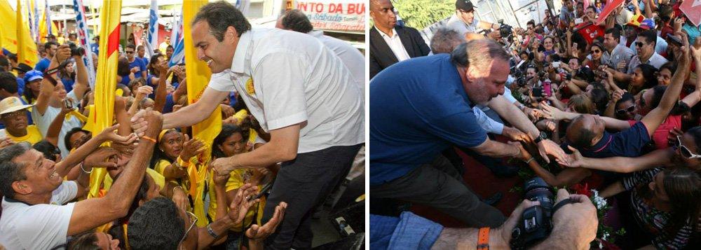 A campanha pelo Governo do Estado de Pernambuco está entre as mais caras do país, ultrapassando os R$ 18 milhões. Os candidatos Paulo Câmara (PSB) e Armando Monteiro Neto (PTB) ocupam, respectivamente, a quinta e décima posição entre os candidatos que mais arrecadaram recursos em dois meses de campanha; de acordo com prestações de contas enviadas ao Tribunal Superior Eleitoral (TSE), Câmara arrecadou R$ 11,6 milhões, enquanto o senador Armando Monteiro Neto declarou ter arrecadado R$ 8,8 milhões, sendo que mais de 50% deste valor teria sido originário do próprio candidato