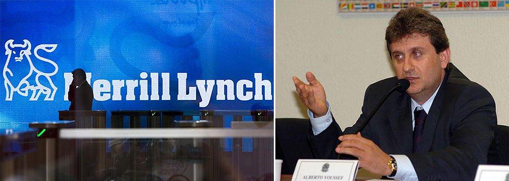 Em acordo de delação premiada, advogado Carlos Alberto Pereira da Costa, laranja de Alberto Youssef, afirma que o banco americano simulou empréstimo para uma empresa controlada pelo doleiro, a GFD Investimentos;operação realizada em 2008 teria sido sugerida por Júlio Lage, gerente do Merrill Lynch em Nova York