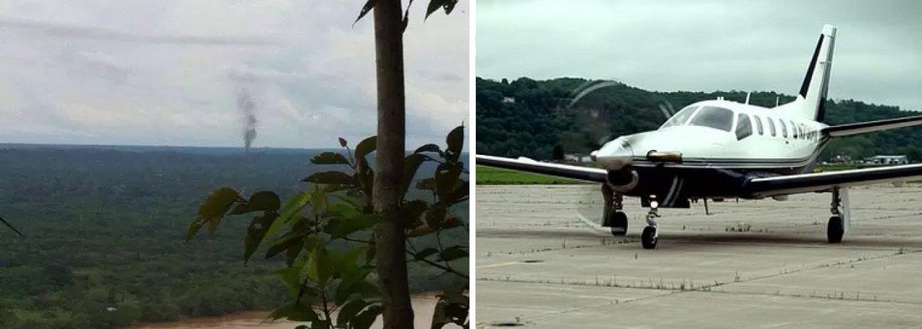 Autoridade de Aviação Civil da Colômbia informou que um avião de pequeno porte, com dois tripulantes e oito passageiros a bordo, entre eles uma criança, caiu no sábado (6) após decolar de um aeroporto no Sul da Colômbia; a aeronave decolou às 14h50 (hora local, 16h50 em Brasília) e horas depois foi localizada em uma região de selva que faz fronteira com o Peru e o Brasil; não há sobreviventes