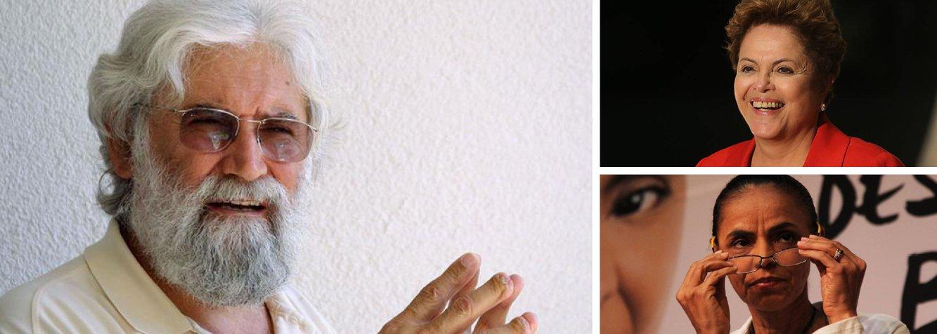 """Líder religioso, intelectual e militante social, Leonardo Boff acredita que """"nenhum governo fez políticas públicas cuja centralidade era o povo marginalizado, os invisíveis"""", como fizeram o ex-presidente Lula e a presidente Dilma Rousseff; sobre Marina Silva, que já foi sua aluna, no Acre, comenta que a candidata do PSB se transformou """"numa fundamentalista com a mentalidade de alguns líderes muçulmanos"""" e que não possui habilidade de articulação; """"Se vencer, oxalá não tenha o mesmo destino político que teve Collor de Mello"""", prevê; em entrevista ao blog do jornalista Paulo Moreira Leite, Boff diz que candidatura da ex-senadora """"representa uma volta ao velho e ao atrasado da política"""""""