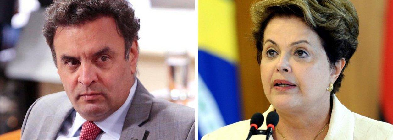"""Após breve descanso, presidente do PSDB volta com pilhas recarregadas; entre a linha moderada do partido, praticada pelos governadores Geraldo Alckmin e Marconi Perillo, e a tropa de choque com Aloysio Nunes e Carlos Sampaio, Aécio Neves fica com colegas de Brasília; """"Dilma já cometeu crime de responsabilidade"""", atacou ex-candidato, em entrevista, referindo-se a remanejamento de verbas acima de 20% do Orçamento; """"Eu não quero falar essa palavra ainda, mas é uma das sanções"""", respondeu Aécio sobre questionamento de impeachment contra presidente Dilma Rousseff; ele usou de uma imagem de espionagem internacional para falar sobre Joaquim Levy, escolhido para o Ministério da Fazenda: """"É como se um grande quadro da CIA fosse comandar a KGB"""""""
