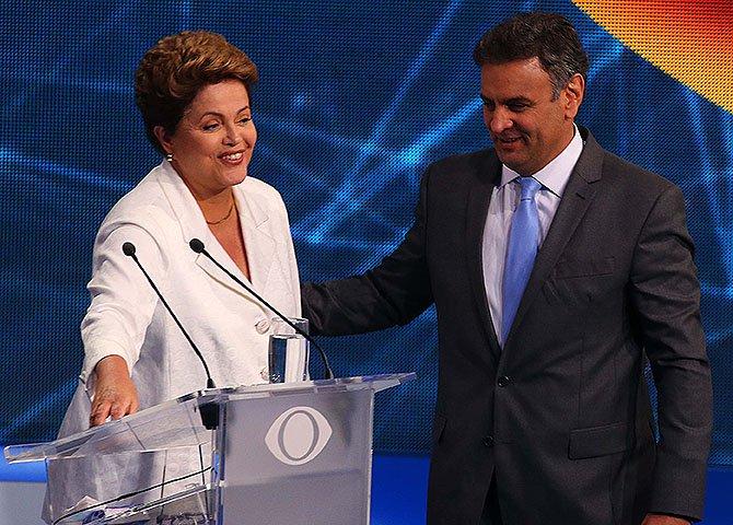 Quem venceu as eleições e presidirá a República foi Dilma Rousseff, mas quem venceu a parada sobre a política que deve dirigir o País foi Aécio Neves