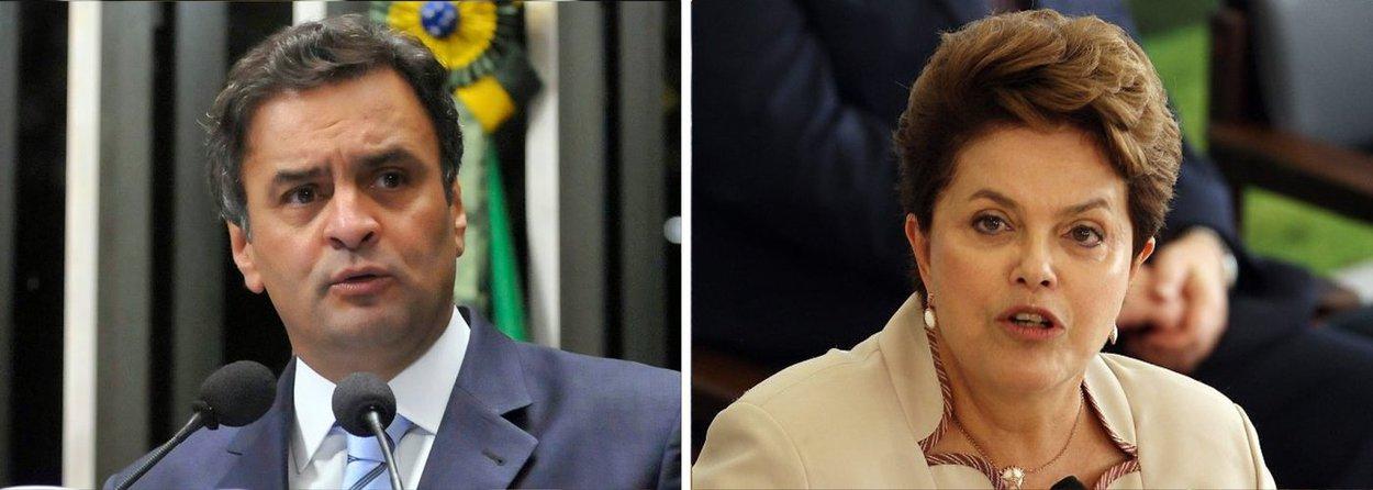 """Senador Aécio Neves (PSDB) cobrou nesta segunda (17) um pedido de desculpas da presidente Dilma Rousseff ao país em razão do recente caso de corrupção envolvendo a Petrobras; ele diz que Dilma """"surpreende o país ao reagir ao noticiário como se fosse apenas uma espectadora, uma cidadã indignada, como se o seu governo não tivesse nenhuma responsabilidade com o que ocorreu na empresa nos últimos anos"""", diz"""