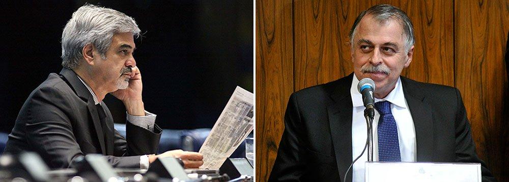 """Líder do PT no Senado, o pernambucano Humberto Costa teria recebido R$ 1 milhão do esquema de pagamento de propina em contratos de empreiteiras com a Petrobras; informação é do ex-diretor da estatal Paulo Roberto Costa em depoimento à Justiça; citação foi feita em depoimento sigiloso que integra a delação premiada do ex-diretor; o senador diz que acusação é """"totalmente fantasiosa""""; """"Não tenho relação com ninguém do PP"""""""
