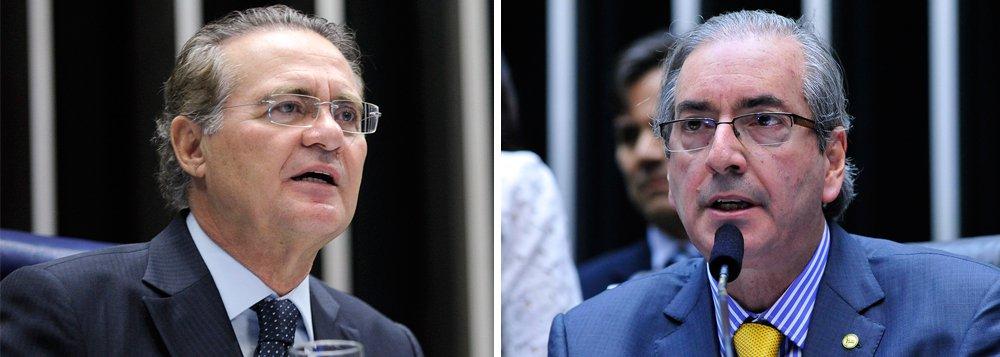 A oposição protocolou, nesta segunda-feira (9), o requerimento para convocar os presidentes da Câmara Federal e do Senado, Eduardo Cunha (PMDB-RJ), e Renan Calheiros (PMDB-AL), respectivamente, para prestar esclarecimentos na Comissão Parlamentar de Inquérito (CPI) da Petrobras, que apura casos de corrupção na companhia; além de Renan e Cunha, o requerimento assinado pela deputada Eliziane Gama (PPS-MA) também pede que a CPI ouça outros 47 políticos que figuram na lista de abertura de inquérito aceita pelo Supremo Tribunal Federal (STF) na semana passada