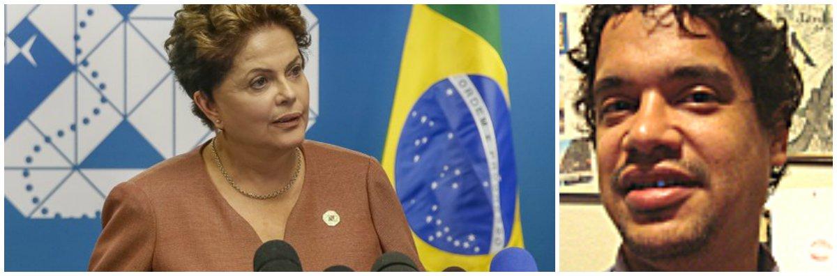 """Blogueiro Miguel do Rosário acredita que """"atmosfera de terceiro turno arrefeceu"""" e """"fantasma do golpe foi esmagado pelo próprio desespero da mídia""""; ao dizer que o escândalo da Petrobras """"atinge toda a classe política"""", e não apenas o PT, ele afirma que presidente Dilma sai fortalecida do episódio, ao defender as investigações da Lava Jato"""